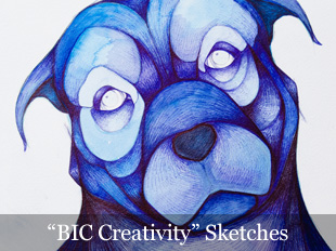 'BIC Creativity' Sketches
