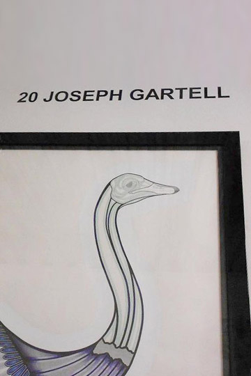 Joseph Gartell at The Other Art Fair